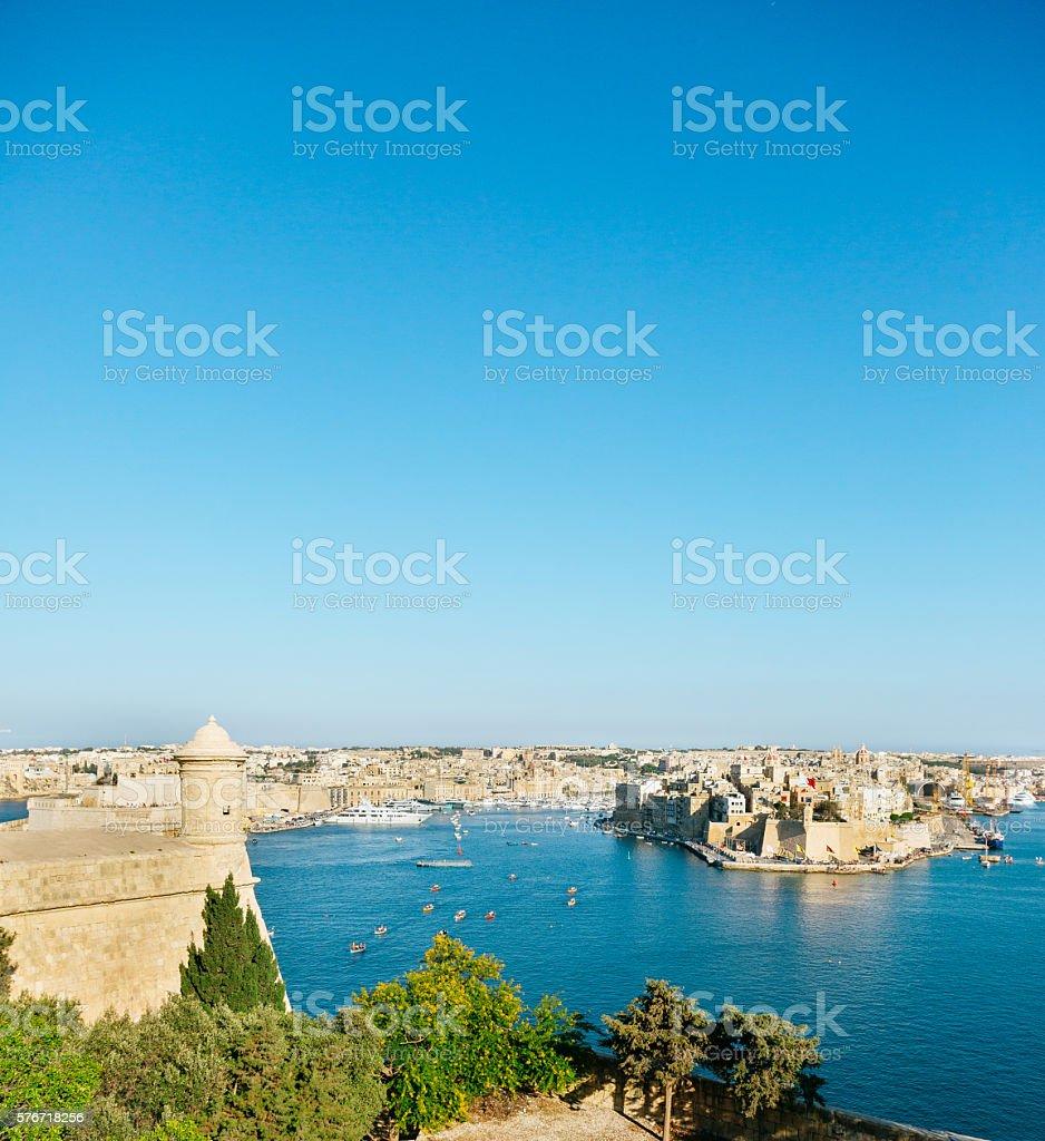 Fort Saint Angelo Birgu, Malta stock photo