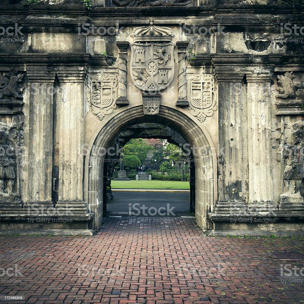Fort Santiago royalty-free stock photo