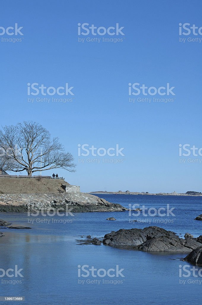 Fort Sewell stock photo