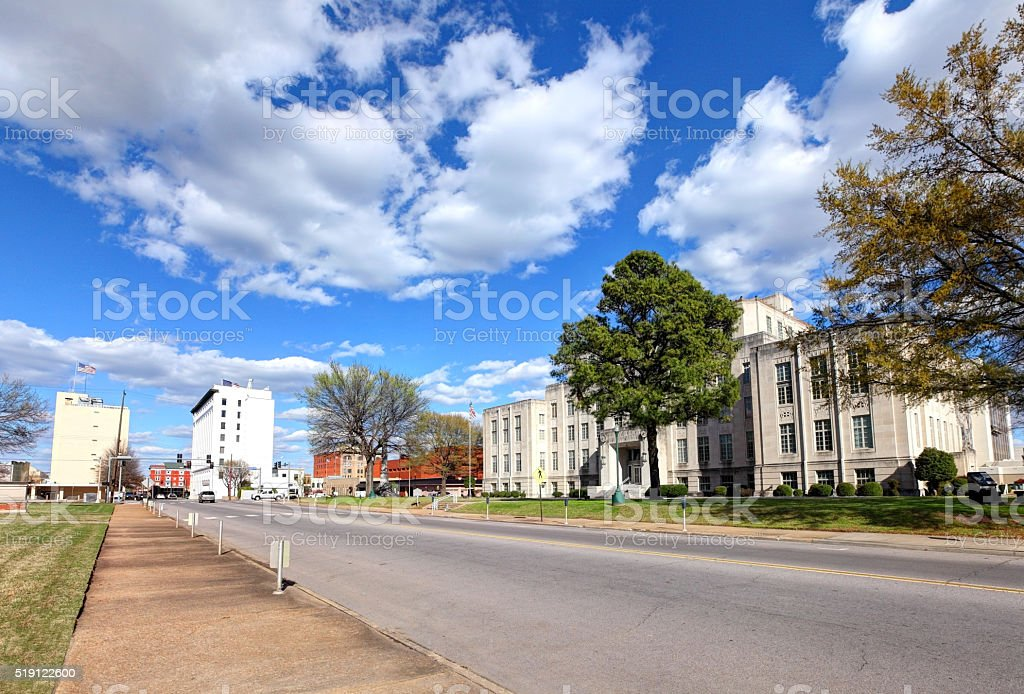 Fort Smith, Arkansas stock photo