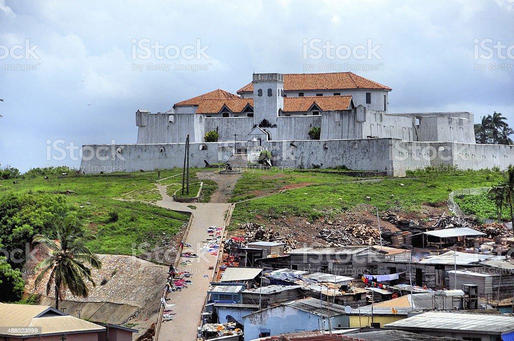 Fort S?o Tiago / Coenraadsburg, Elmina, Ghana stock photo