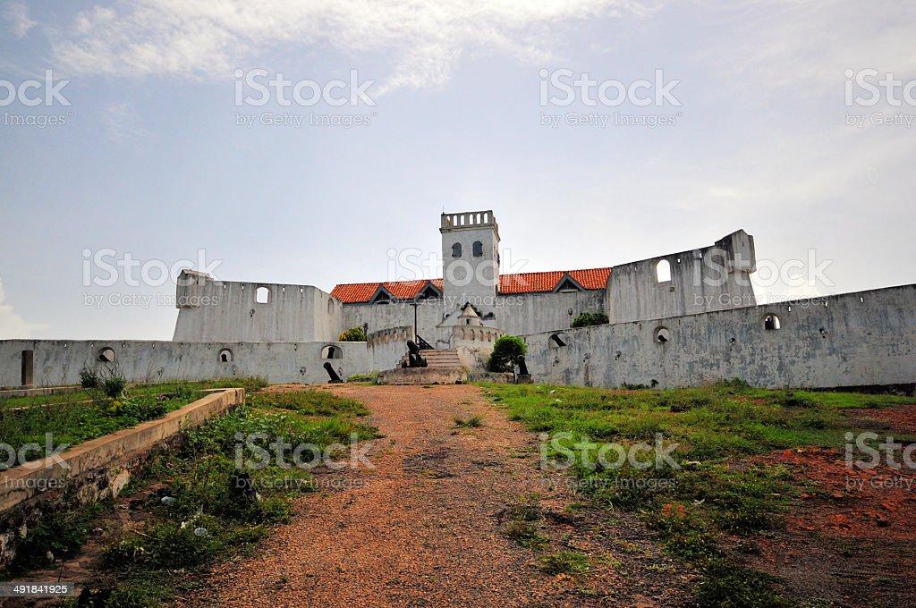 Fort São Tiago / Coenraadsburg, Elmina, Ghana stock photo