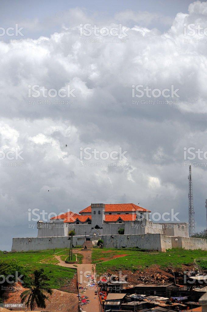 Fort S?o Tiago / Coenraadsburg, Ghana, West Africa stock photo