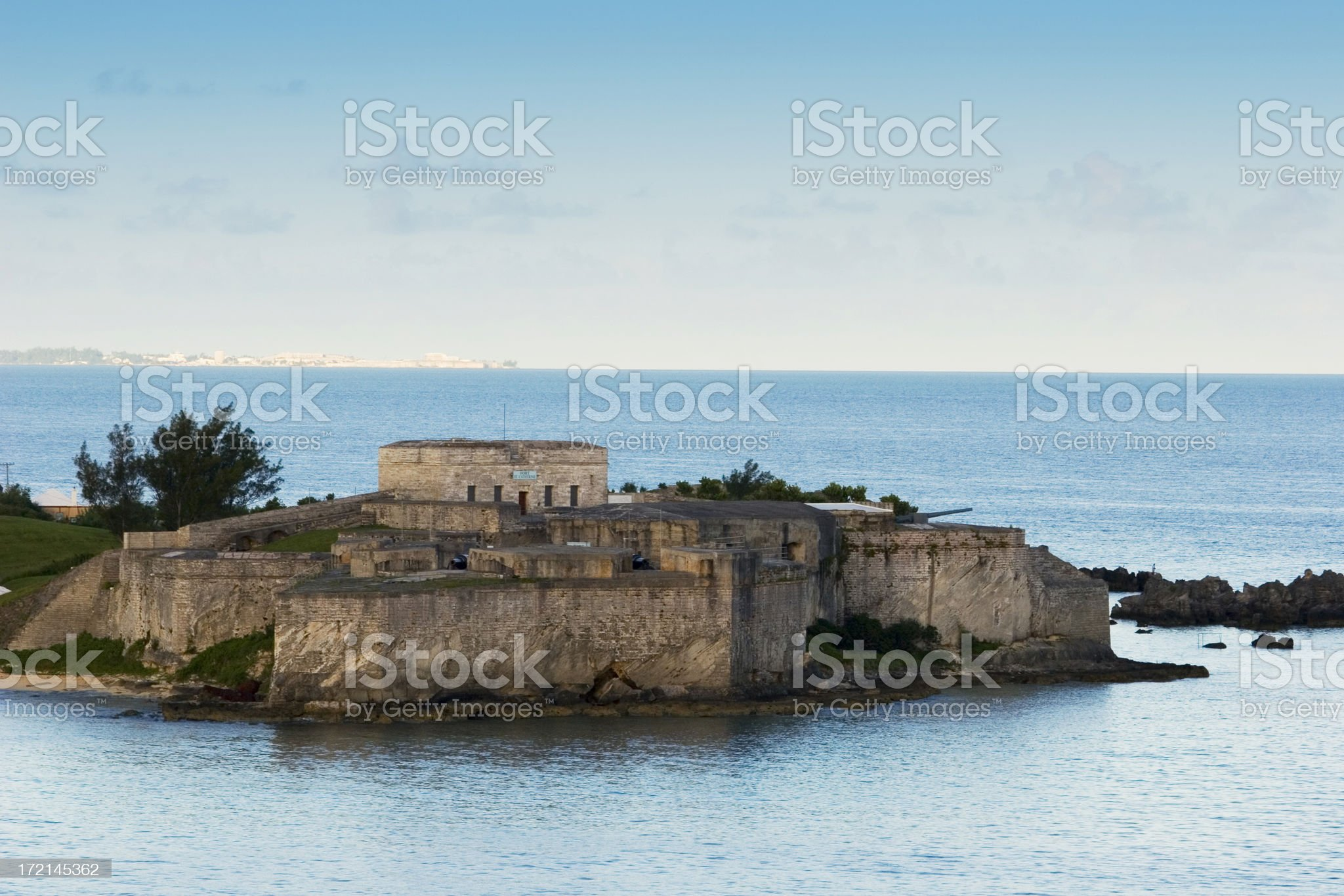 Fort St. Catherine - 2 royalty-free stock photo