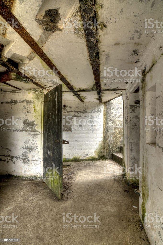 Fort Stevens stock photo