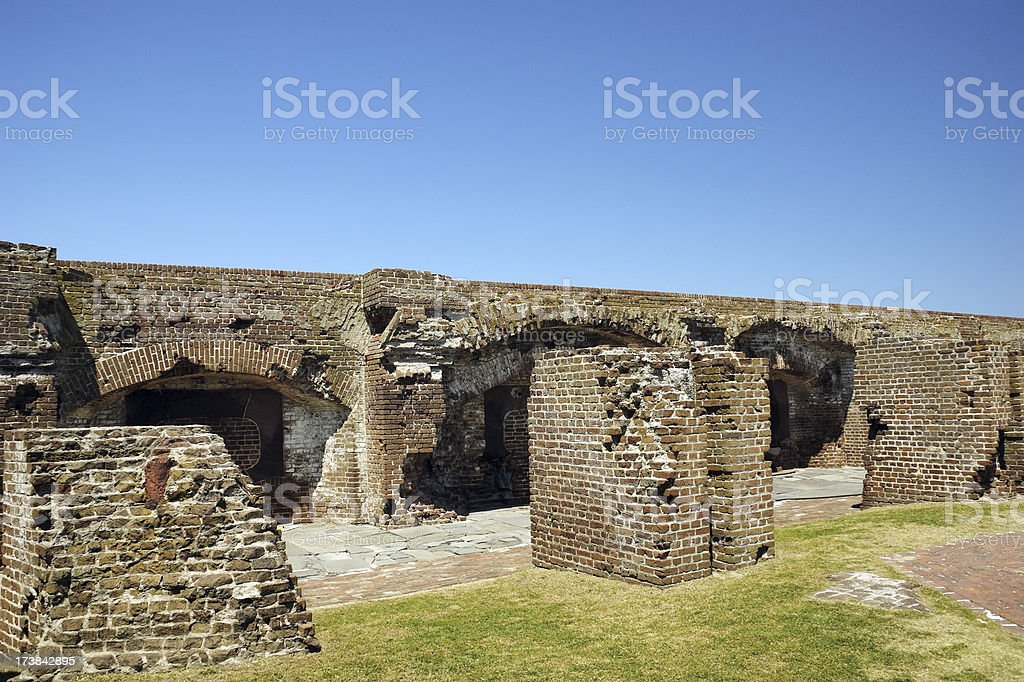 Fort Sumter National Monument Charleston 3 stock photo