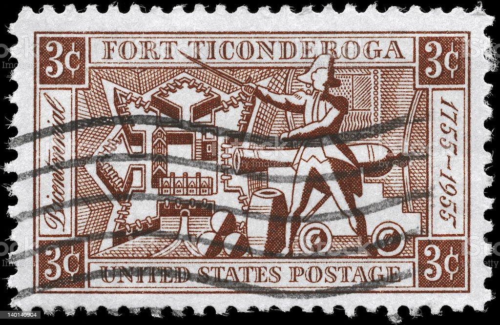 Fort Ticonderoga stock photo