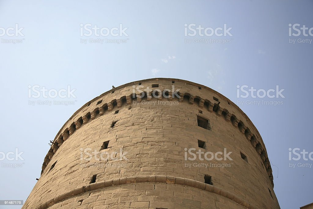 fort tower royalty-free stock photo