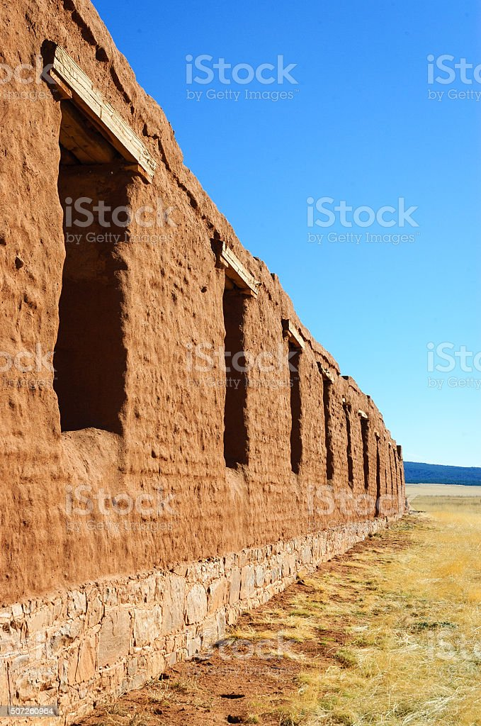 Fort Union National Monument stock photo