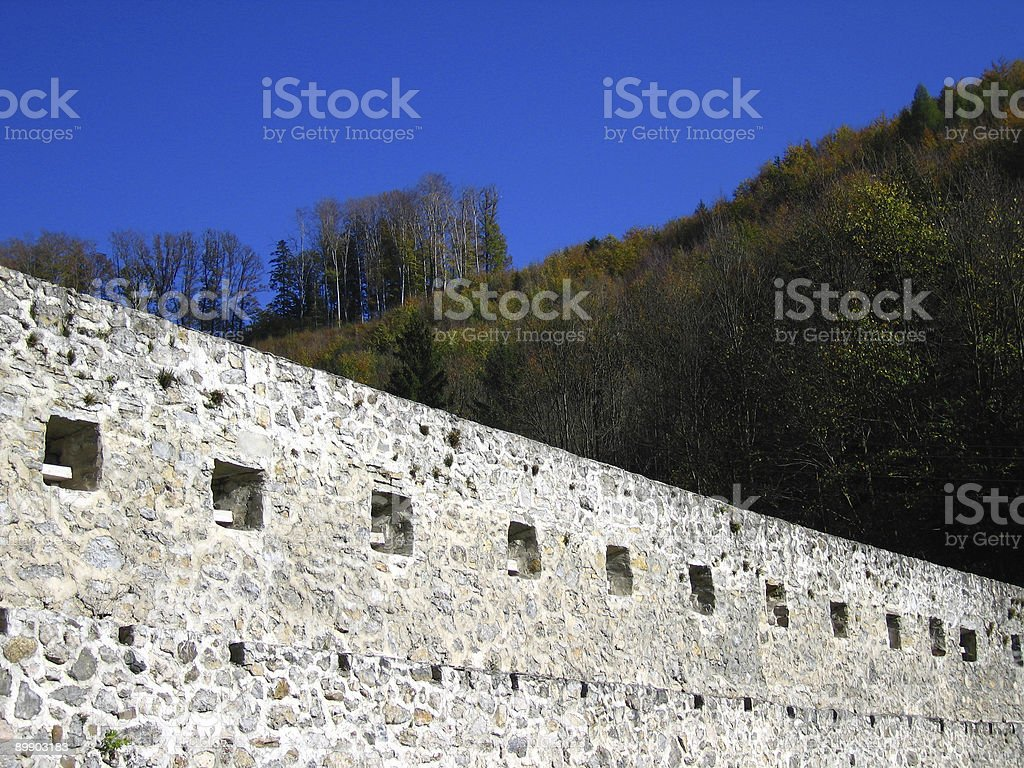 Fort wall stock photo