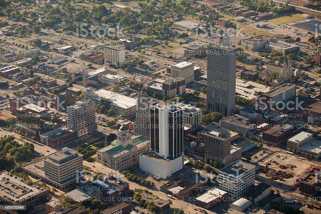 Fort Wayne Indiana stock photo
