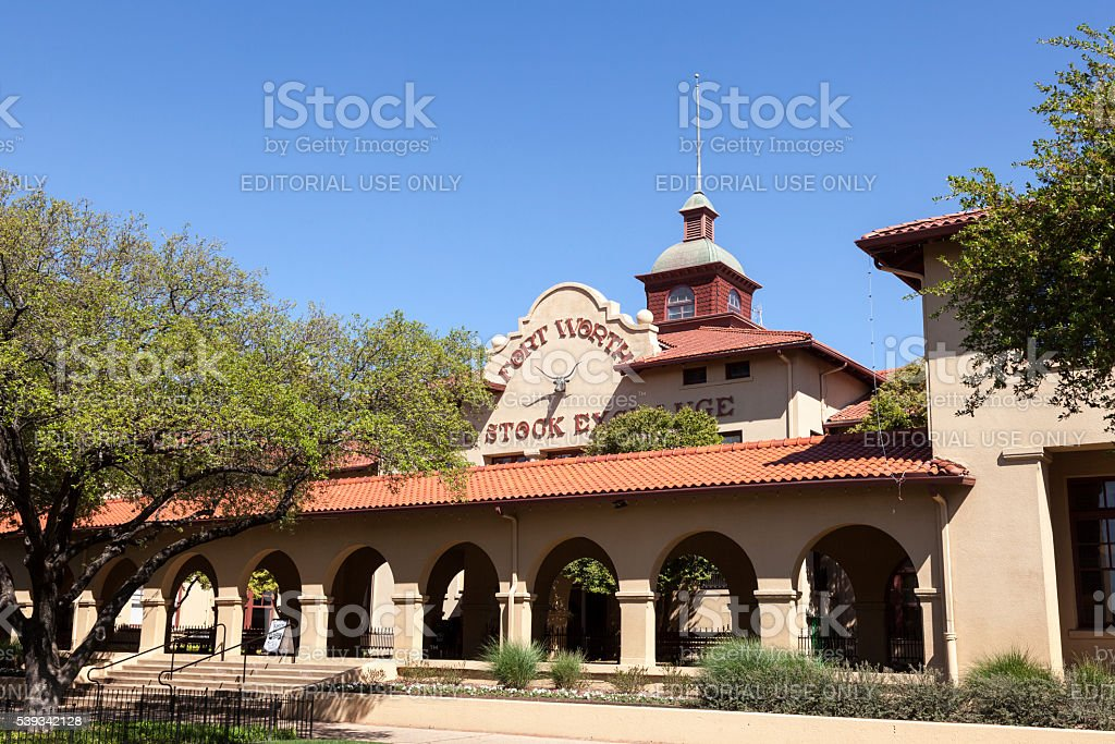 Fort Worth Stock Exchange. Texas, USA stock photo