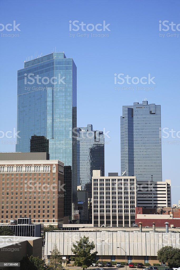 Fort Worth, Texas royalty-free stock photo