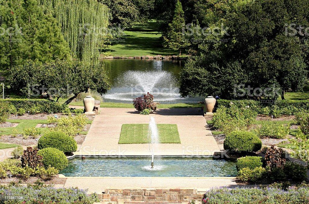 fort worth's botanic garden royalty-free stock photo