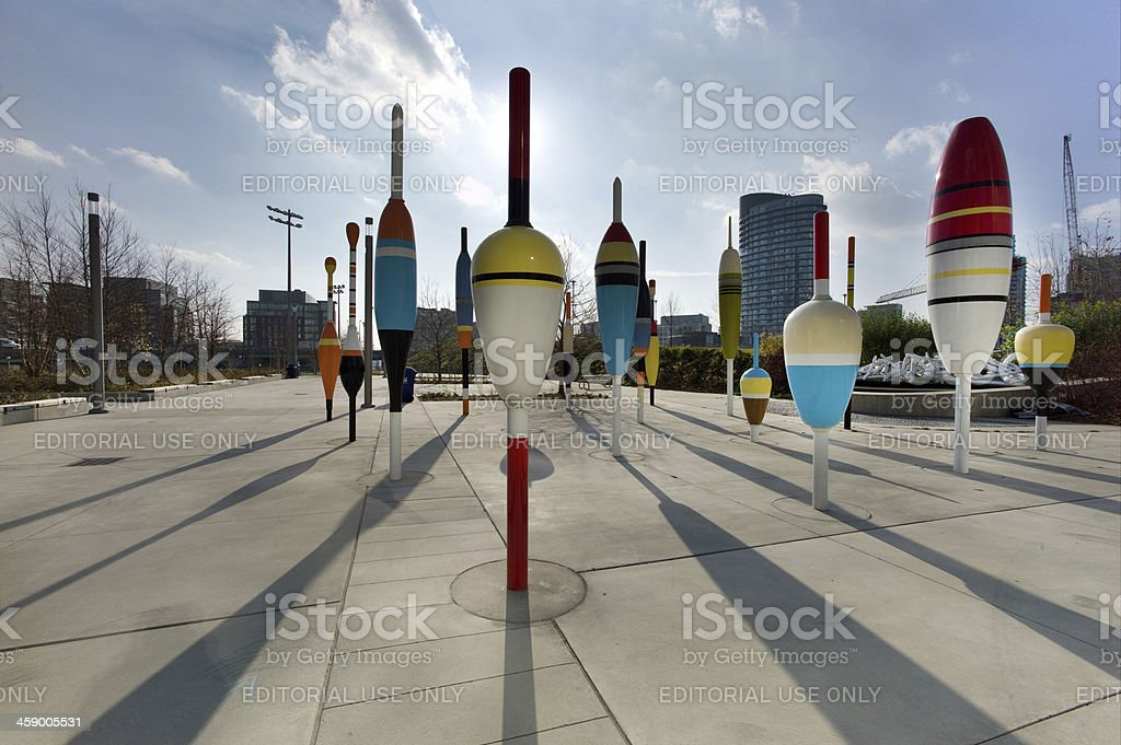 Fort York in Toronto royalty-free stock photo