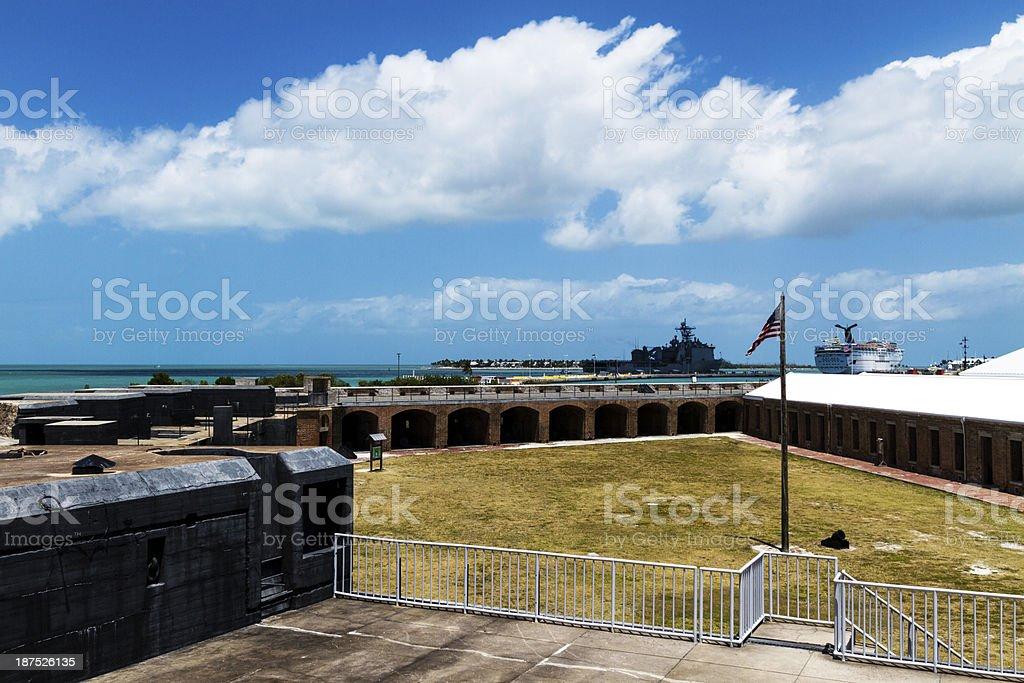 Fort Zachary Taylor Historic State Park, Florida, USA stock photo