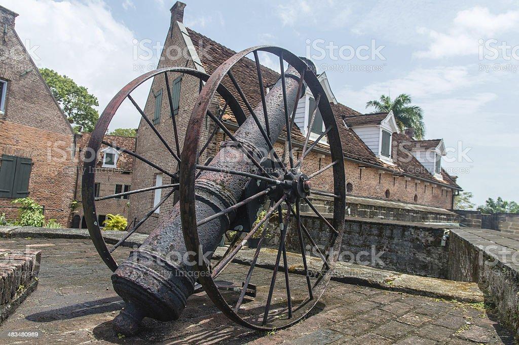 Fort Zeelandia stock photo