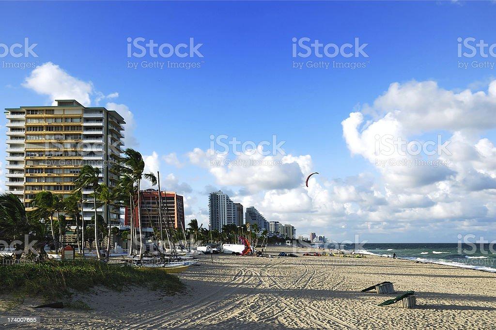 fort_lauderdale_beach stock photo