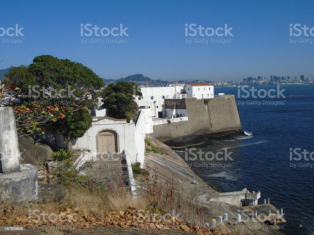 Fortaleza de Santa Cruz da Barra - Rio de Janeiro stock photo