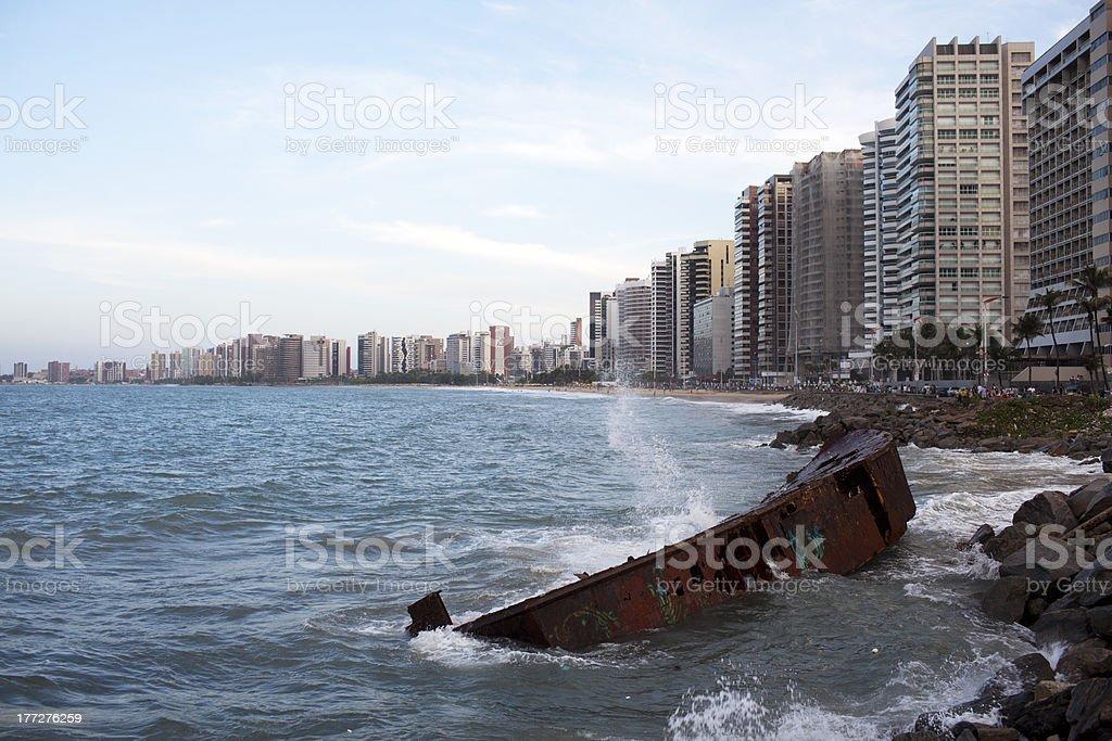 Fortaleza in Brasil stock photo