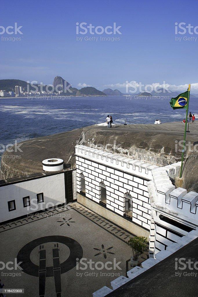 Forte de Copacabana royalty-free stock photo