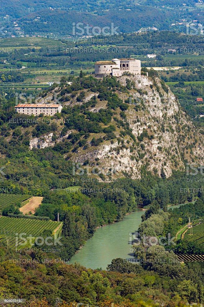 Forte di Rivoli - Verona Italy stock photo