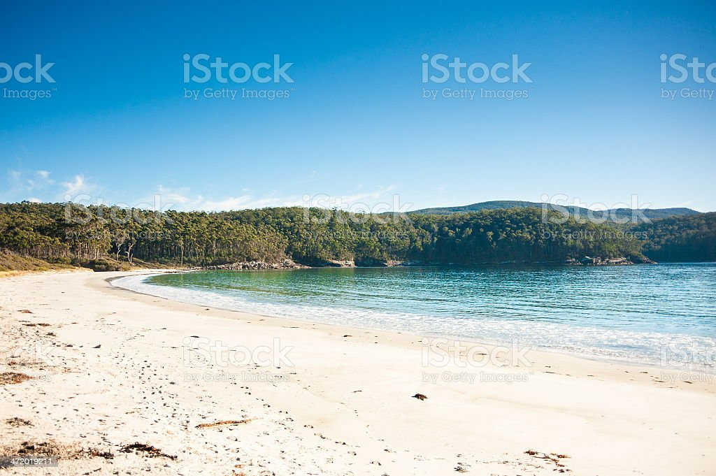 Fortescue Bay stock photo