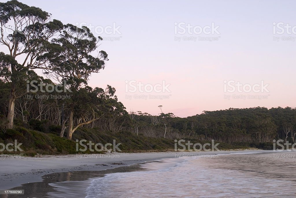 Fortescue Bay Sunrise stock photo