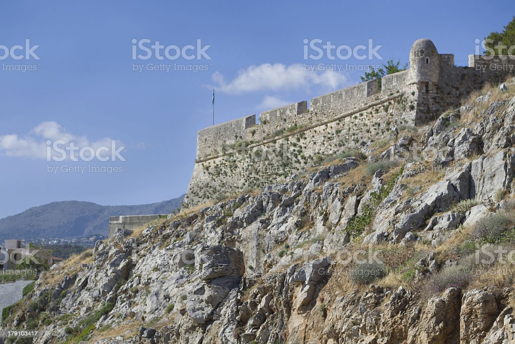Fortezza in Rethymno. royalty-free stock photo