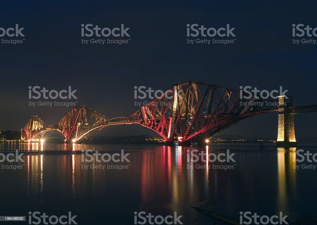 Forth Bridge royalty-free stock photo
