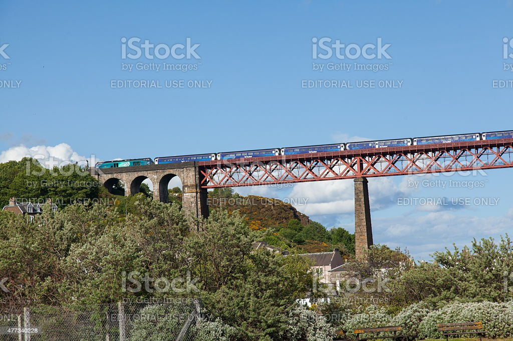 Forth Rail Bridge stock photo