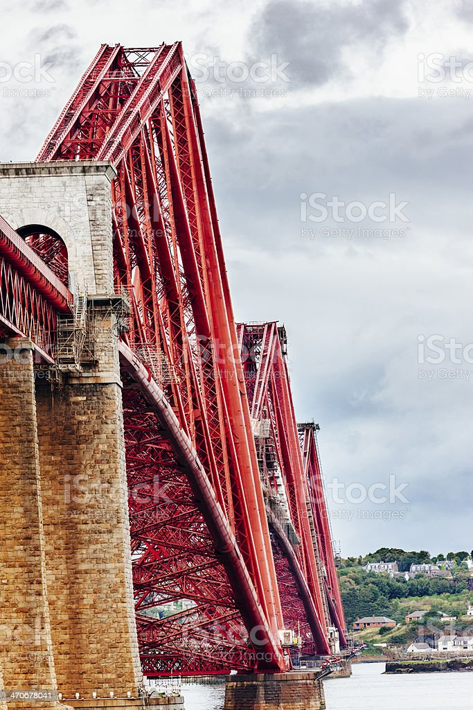 Forth Railway Bridge stock photo
