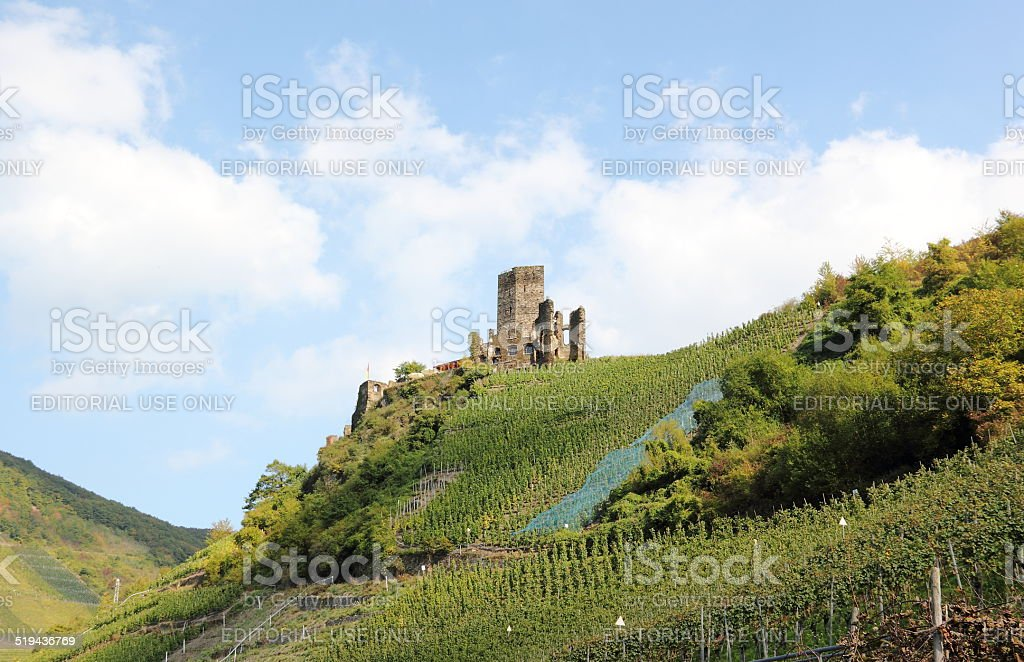 Fortification Metternich. Beilstein, Rhineland-Palatinate, Germany. stock photo