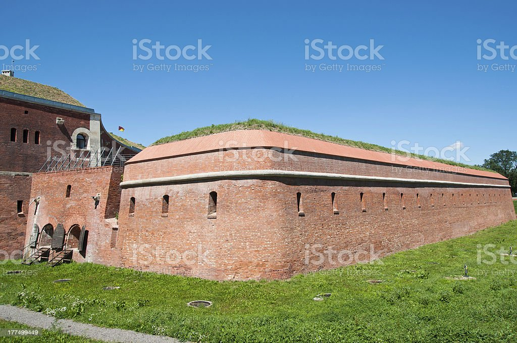 Fortification of Zamosc royalty-free stock photo