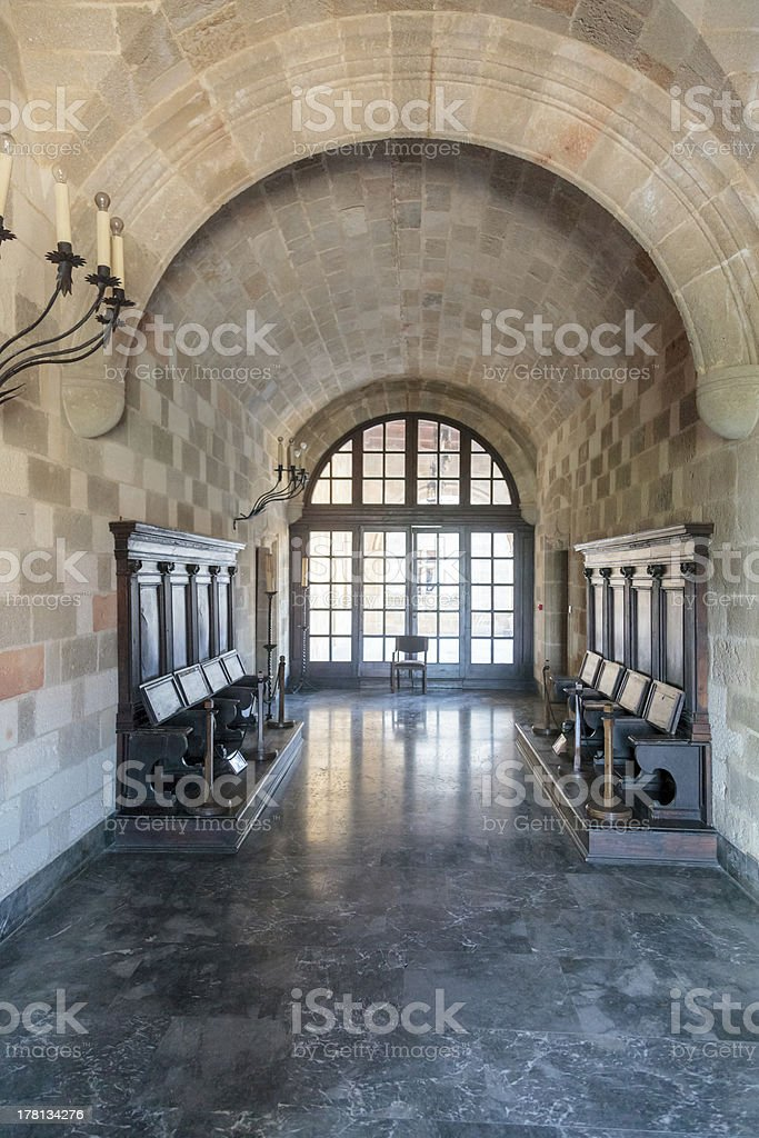 Fortification walls royalty-free stock photo