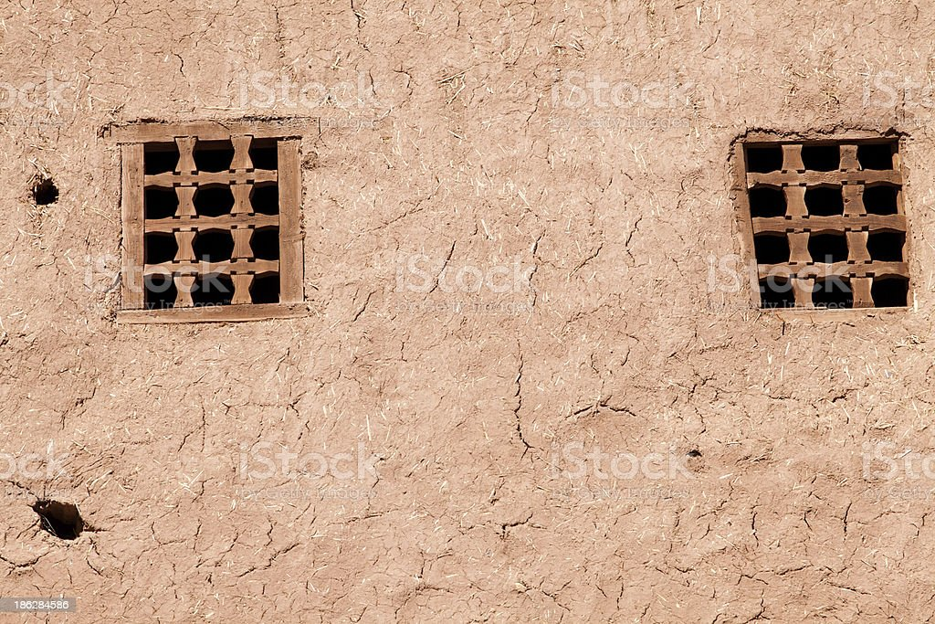 fortified city  of A?t Benhaddou royalty-free stock photo