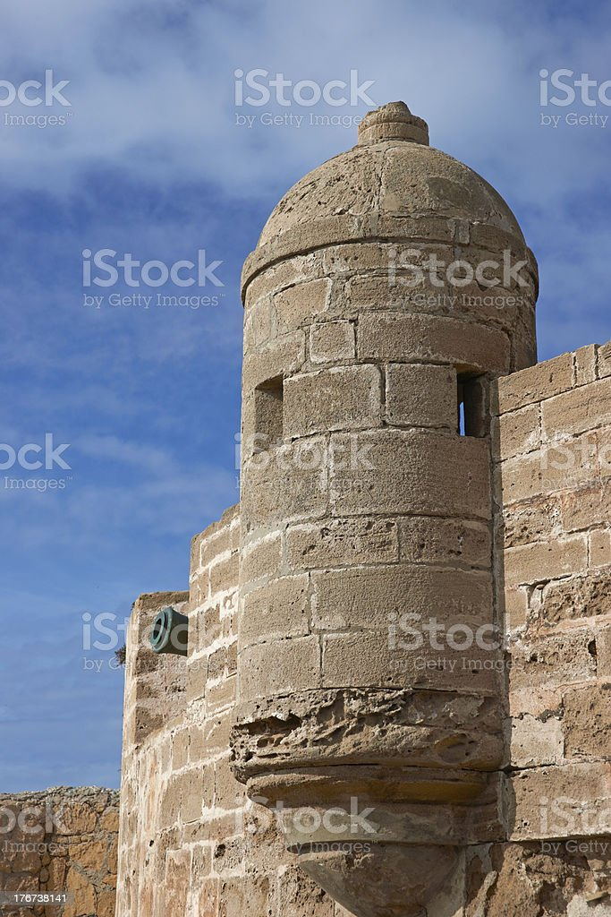 Fortified Tower royalty-free stock photo