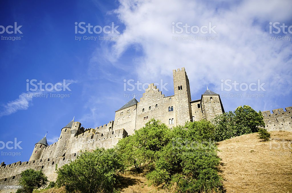 Fortified Town of Carcassonne stock photo