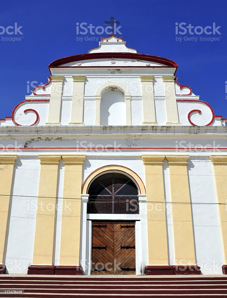 Fort-Liberte, Haiti; Cathedral of St Joseph stock photo