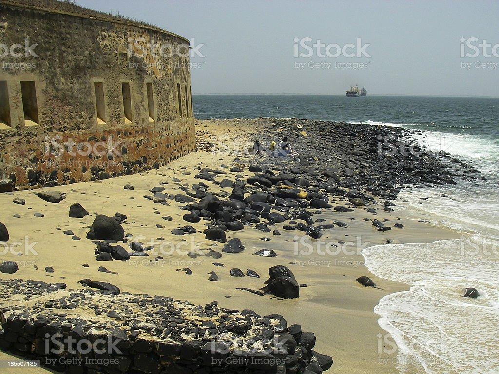 Fortress and Slave Entrepot Goree Island Dakar Senegal West Africa stock photo