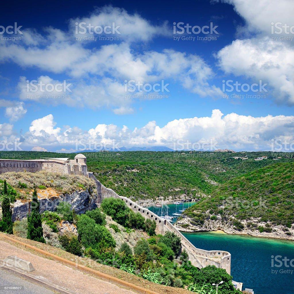 Fortress Bonifacio stock photo