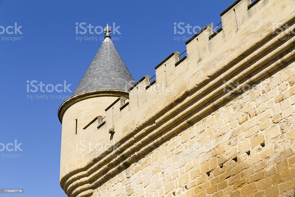 Fortress detail stock photo