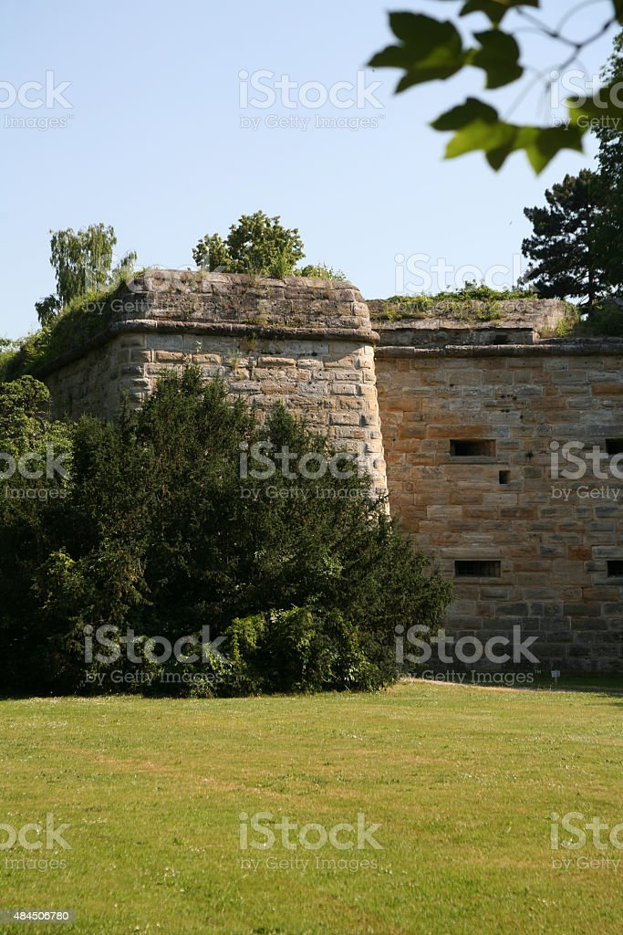 Fortress Forchheim stock photo