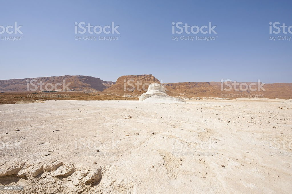 Fortress in Desert royalty-free stock photo