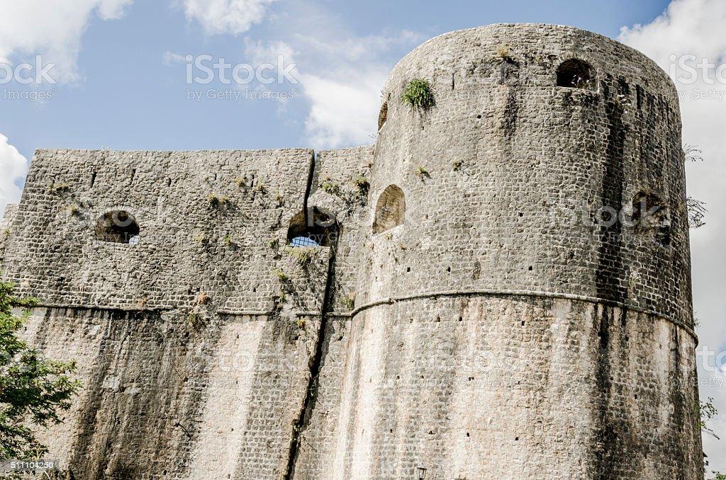 Fortress in Herceg Novi, Montenegro stock photo