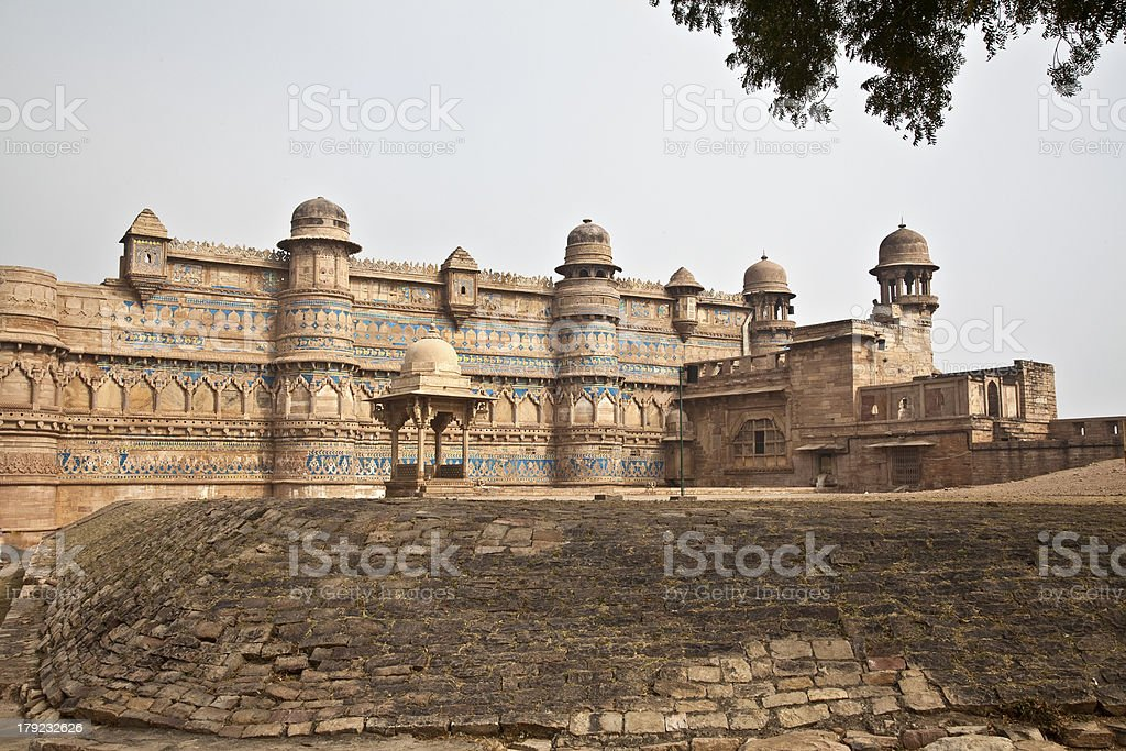 Fortress in India royalty-free stock photo