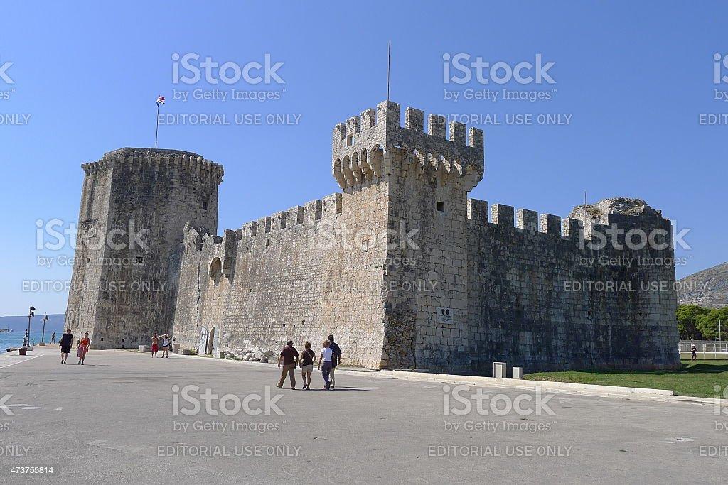 Fortress Kamerlengo, Trogir stock photo