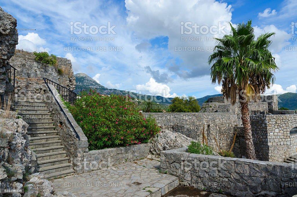 Fortress Kanli Kula (Bloody Tower), Herceg Novi, Montenegro stock photo