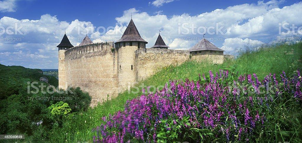 Fortress Khotyn royalty-free stock photo