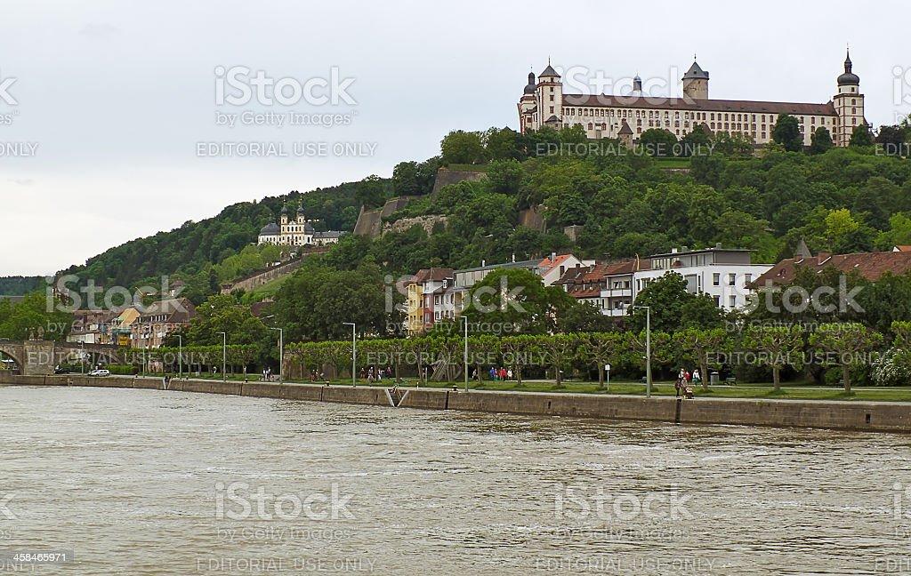 Fortress Marienberg royalty-free stock photo